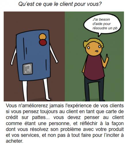 La BD de l'Expérience Client : 73 conseils pour optimiser votre Service Client 42