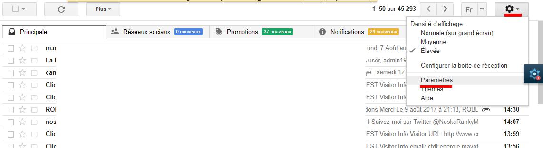 Comment envoyer et recevoir des emails depuis Gmail avec une autre adresse email ? 2