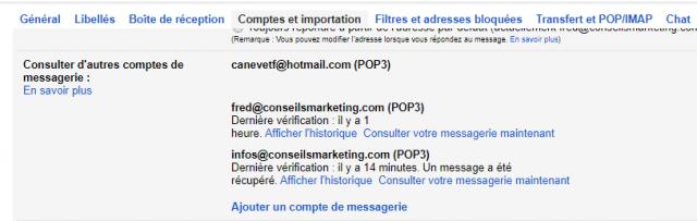 Comment envoyer et recevoir des emails depuis Gmail avec une autre adresse email ? 6