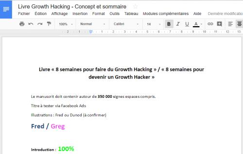 """Ca y est ! Mon livre """"Le Growth Hacking"""" est enfin disponible ! - Les coulisses de la publication d'un livre ! 17"""