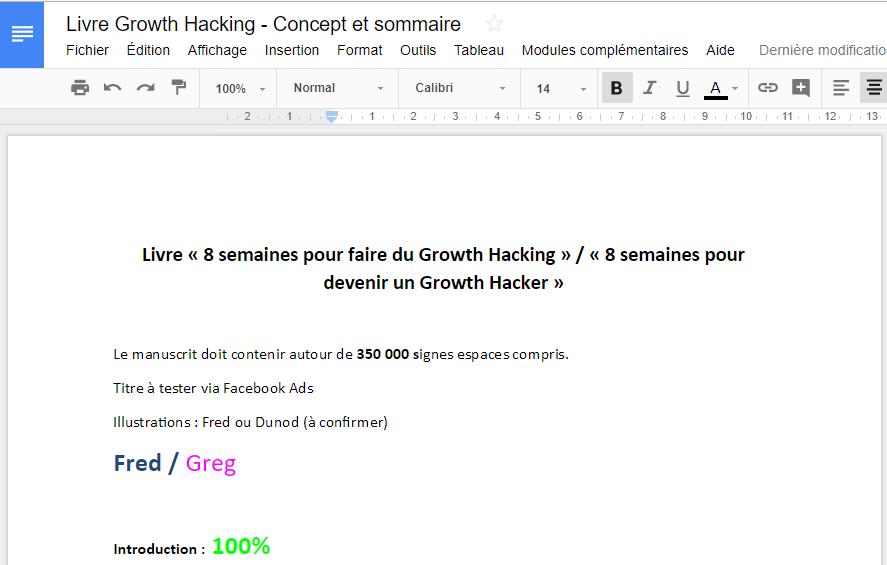 """Ca y est ! Mon livre """"Le Growth Hacking"""" est enfin disponible ! - Les coulisses de la publication d'un livre ! 14"""