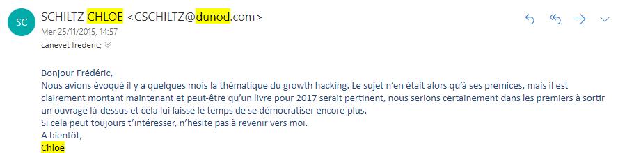 """Ca y est ! Mon livre """"Le Growth Hacking"""" est enfin disponible ! - Les coulisses de la publication d'un livre ! 11"""