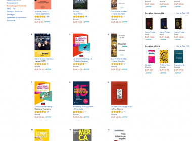 "Mon livre ""Le Growth Hacking"" dans le Top 5 des livres Marketing en France ! 67"