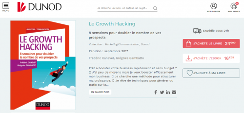 """Ca y est ! Mon livre """"Le Growth Hacking"""" est enfin disponible ! - Les coulisses de la publication d'un livre ! 33"""