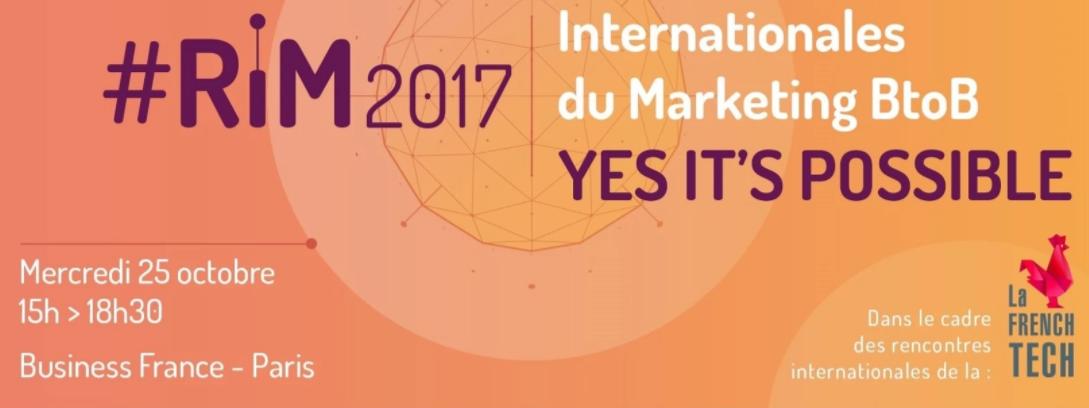 Découvrez comment vous développer à l'international : Les Rencontres Internationales du Marketing BtoB - 25 Octobre 1