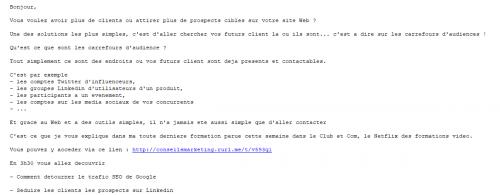 Spécial emailing : 25 conseils pour améliorer la conversion de vos campagnes d'eMailing ! 61