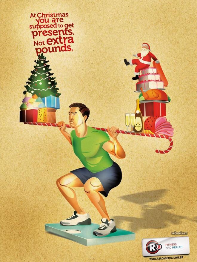 Les 120 publicités sur Noël plus belles et les plus créatives ! 8