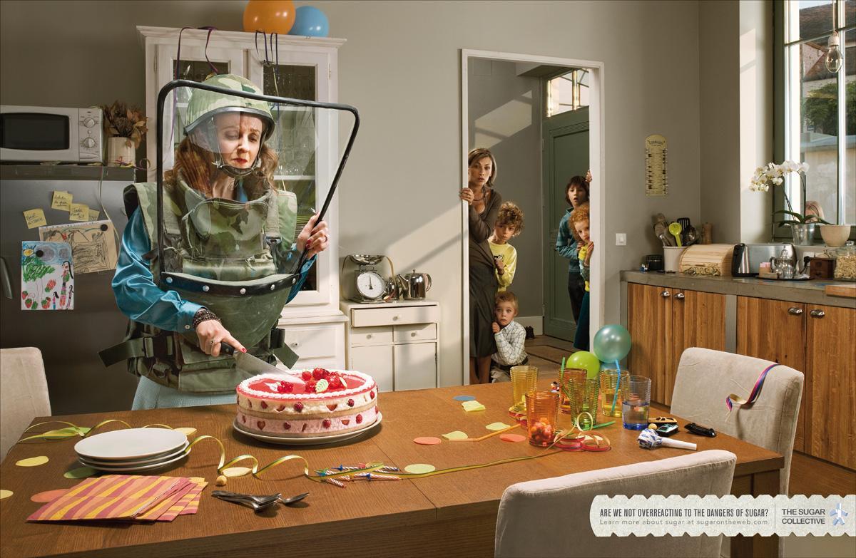 Les publicités les plus créatives sur la Pâtisserie - Spécial #LeMeilleurPâtissier 11