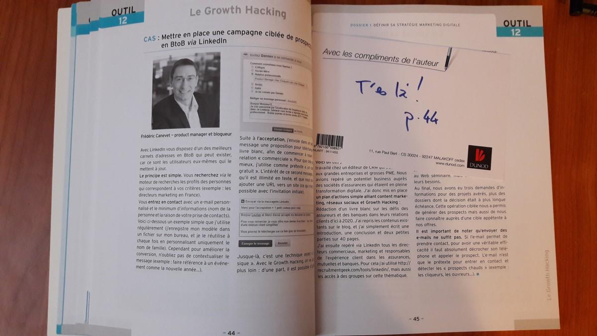 Critique du livre : La boîte à outils du Marketing Digital par Stéphane Trupheme et Philippe Gastaud + Focus Growth Hacking 12