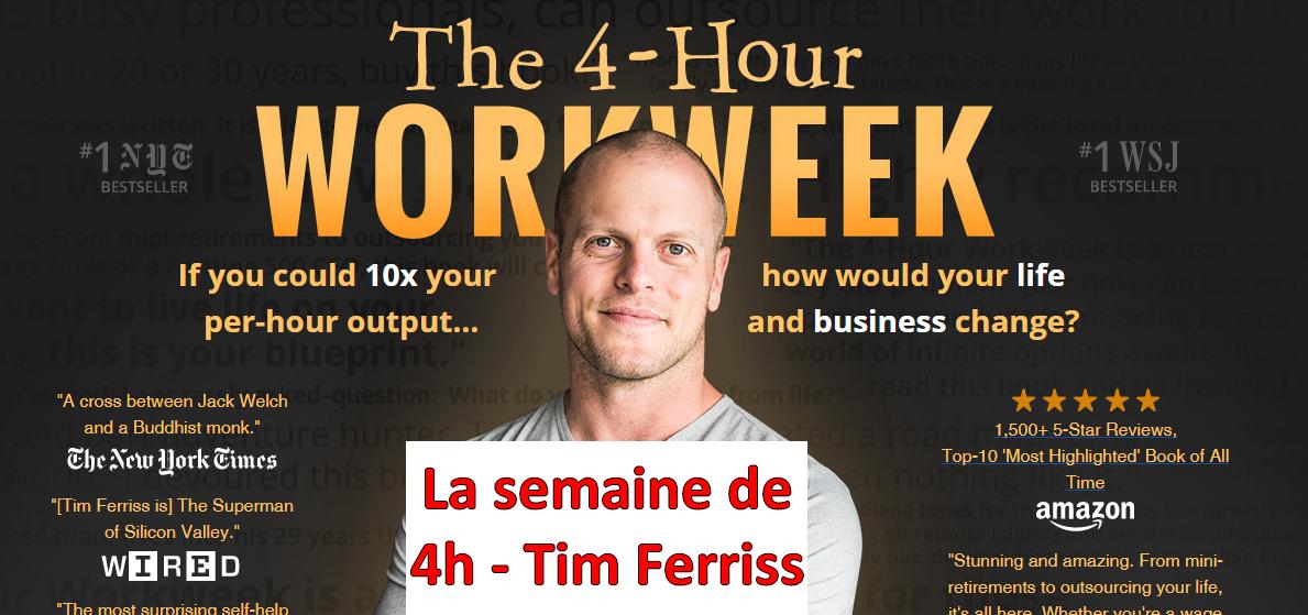 Voici mon avis sur le livre « La Semaine de 4 heures » de Tim Ferriss 20