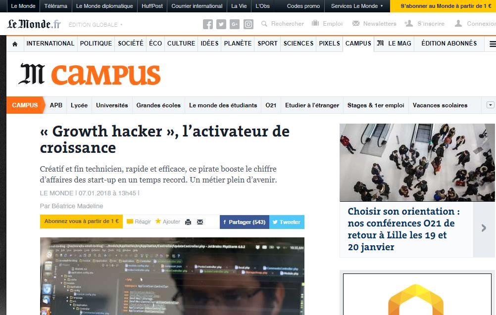 ConseilsMarketing.com cité dans LeMonde.fr ! 23