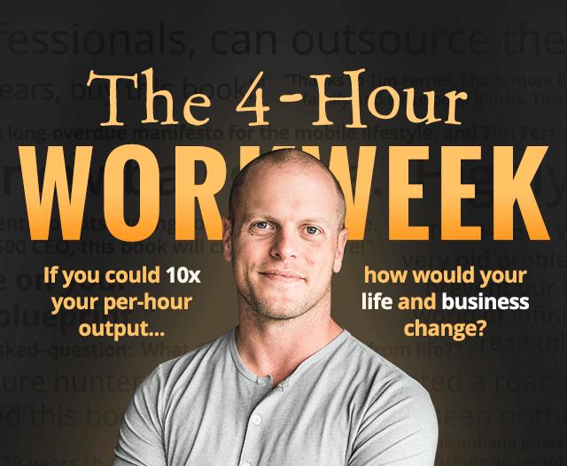 Voici mon avis sur le livre « La Semaine de 4 heures » de Tim Ferriss 15