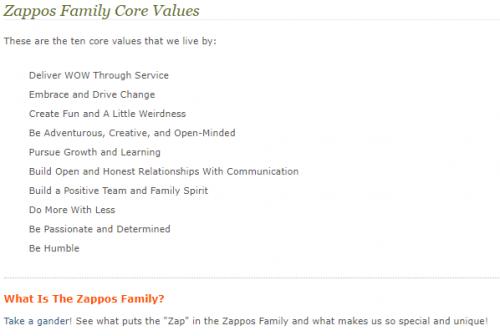 Zappos : la meilleure culture d'entreprise du monde ? 8