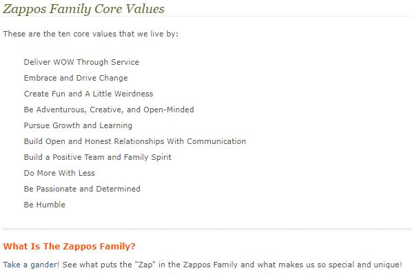 Zappos : la meilleure culture d'entreprise du monde ? 5