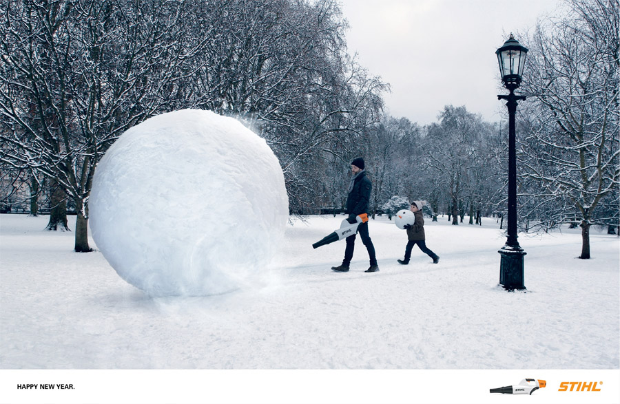 Bon courage aux Parisiens : les 80 publicités les plus créatives sur la Neige #neigeparis 82