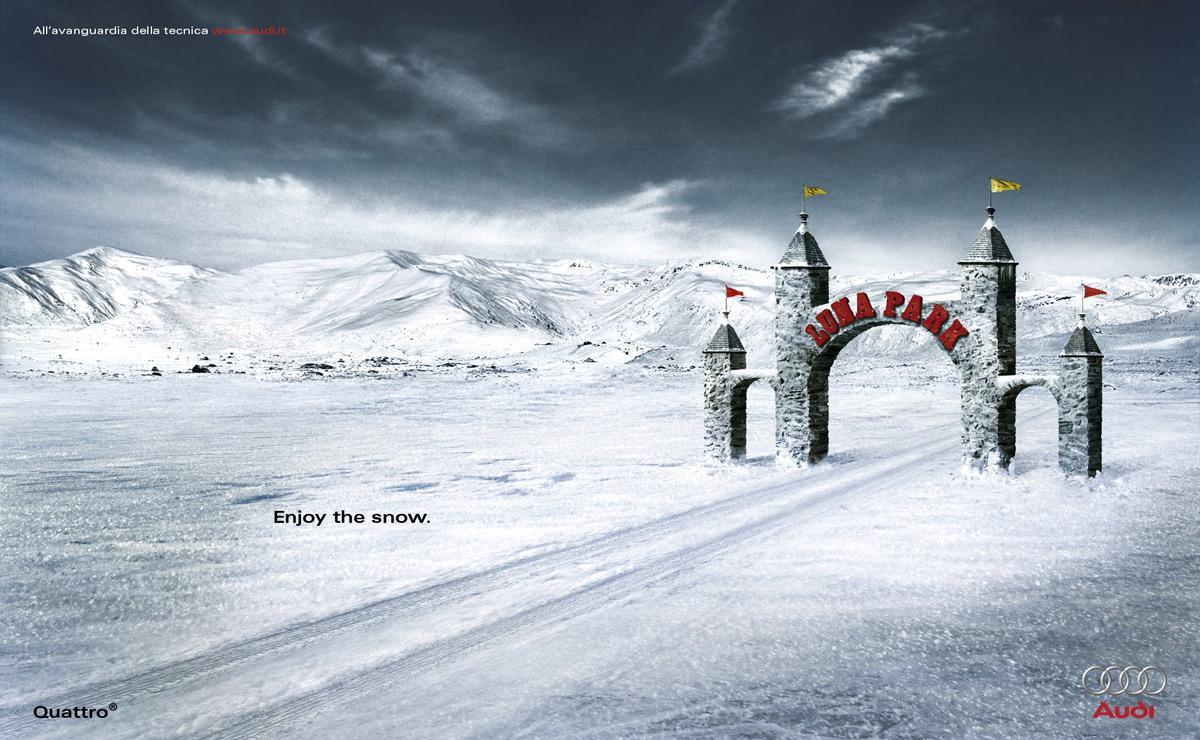 Bon courage aux Parisiens : les 80 publicités les plus créatives sur la Neige #neigeparis 12