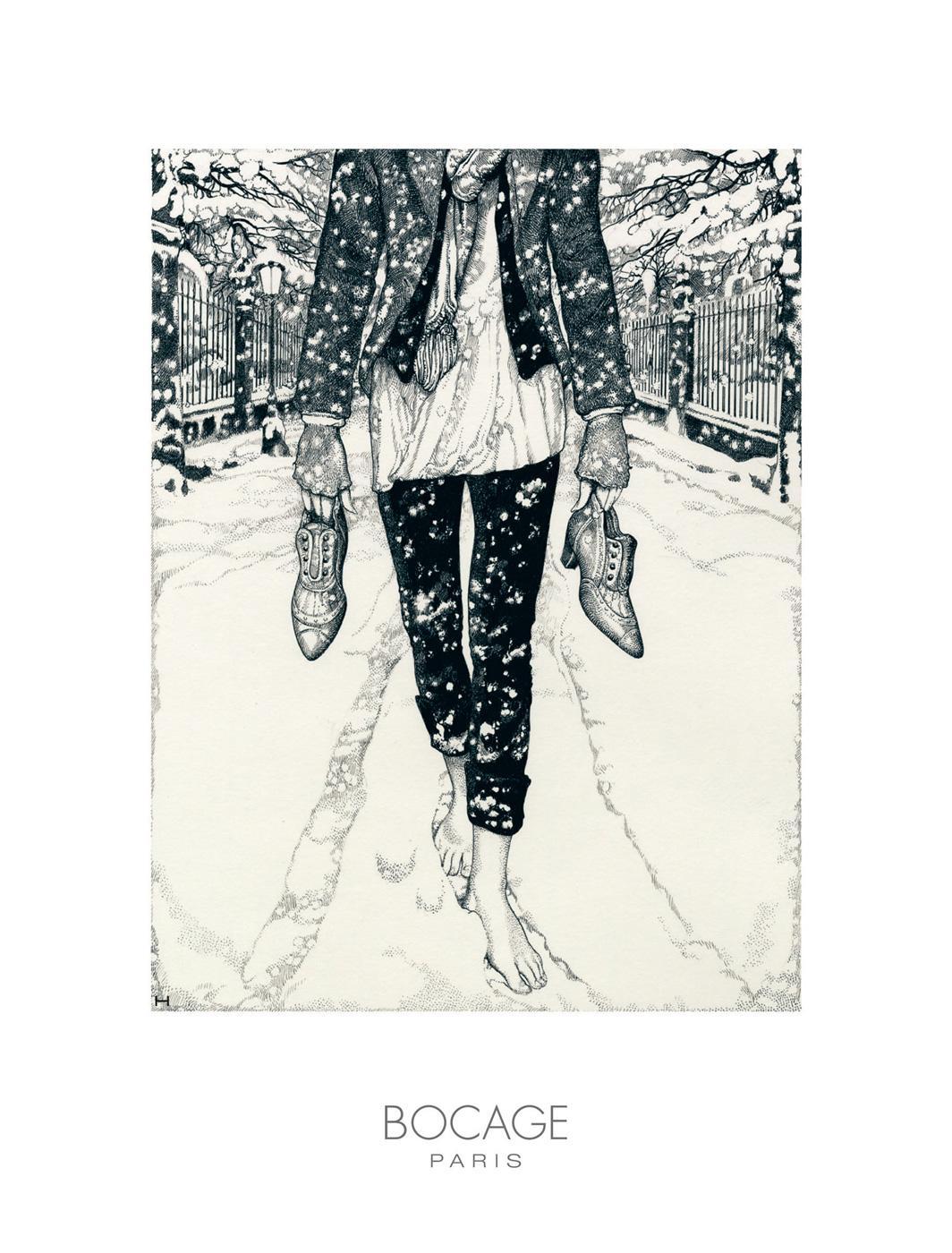 Bon courage aux Parisiens : les 80 publicités les plus créatives sur la Neige #neigeparis 19