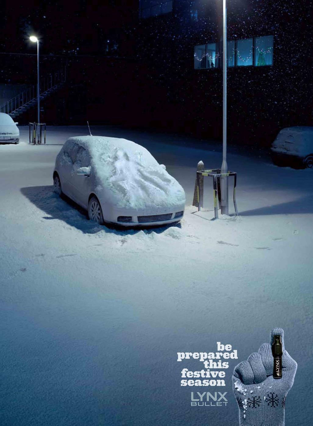 Bon courage aux Parisiens : les 80 publicités les plus créatives sur la Neige #neigeparis 48