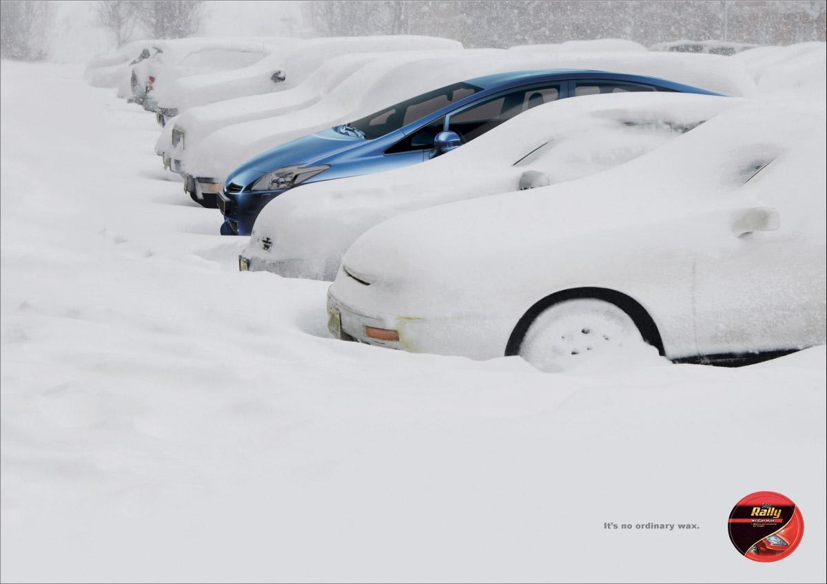 Bon courage aux Parisiens : les 80 publicités les plus créatives sur la Neige #neigeparis 59
