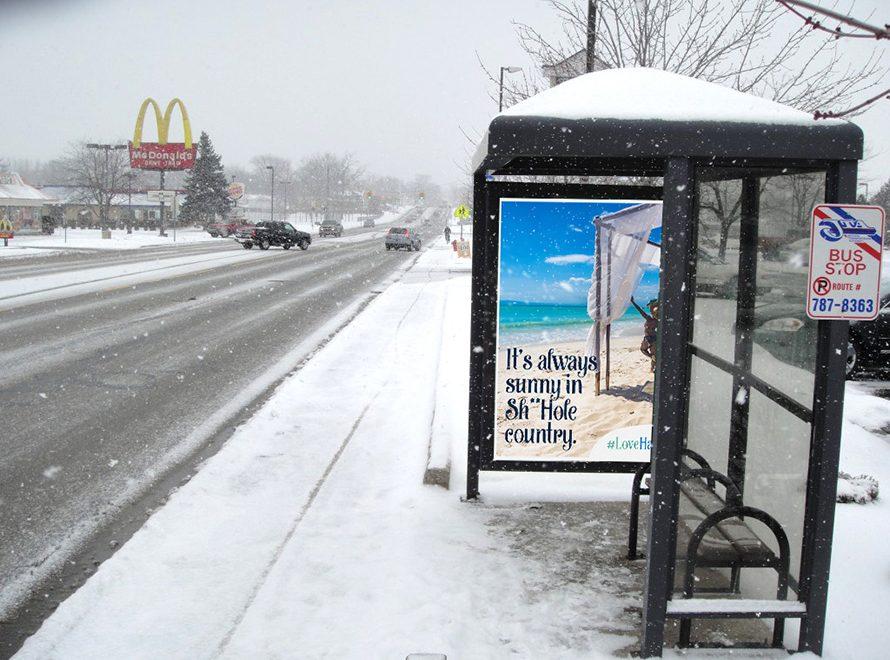 Bon courage aux Parisiens : les 80 publicités les plus créatives sur la Neige #neigeparis 8