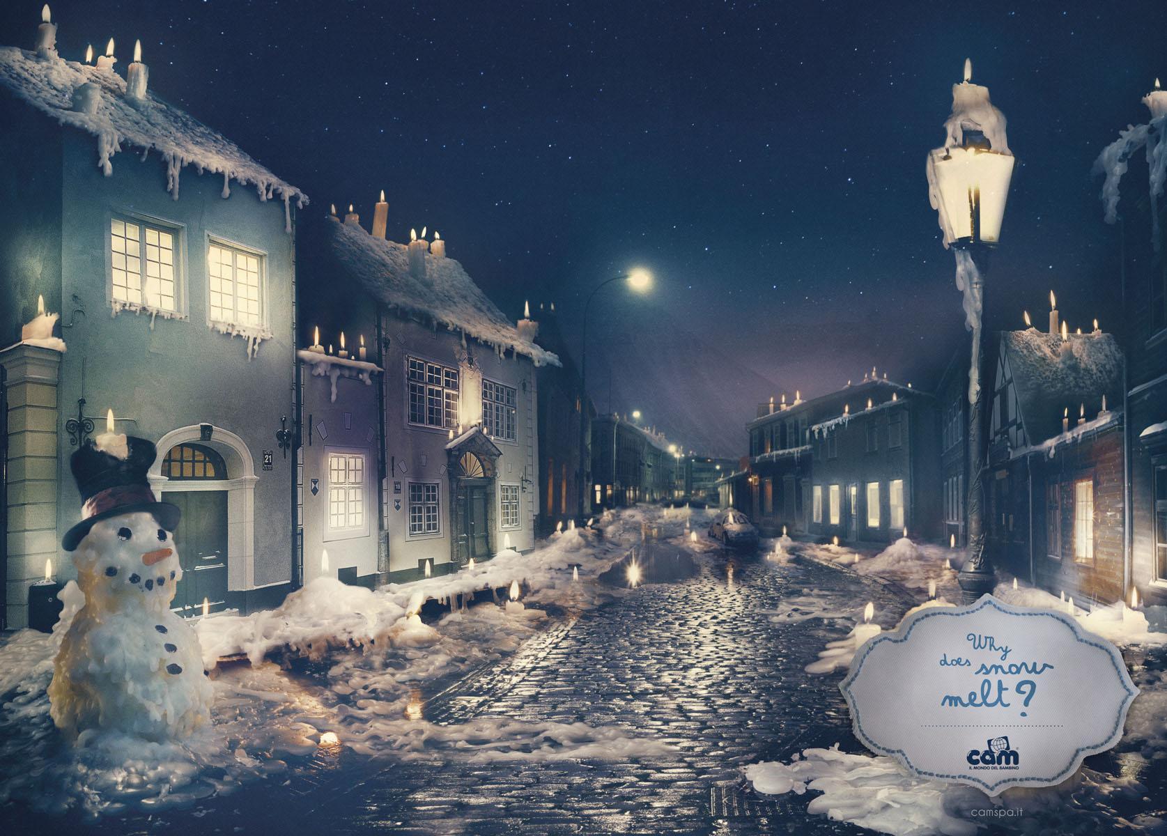 Bon courage aux Parisiens : les 80 publicités les plus créatives sur la Neige #neigeparis 20