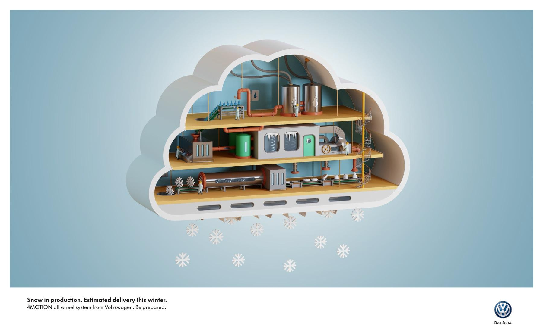 Bon courage aux Parisiens : les 80 publicités les plus créatives sur la Neige #neigeparis 25