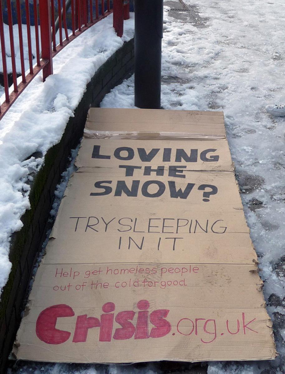 Bon courage aux Parisiens : les 80 publicités les plus créatives sur la Neige #neigeparis 28