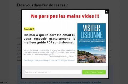 Cas Pratique : Voici comment Thibaut de bonjourlisbonne.fr gagne 3 000€/mois avec un blog sur le tourisme 29
