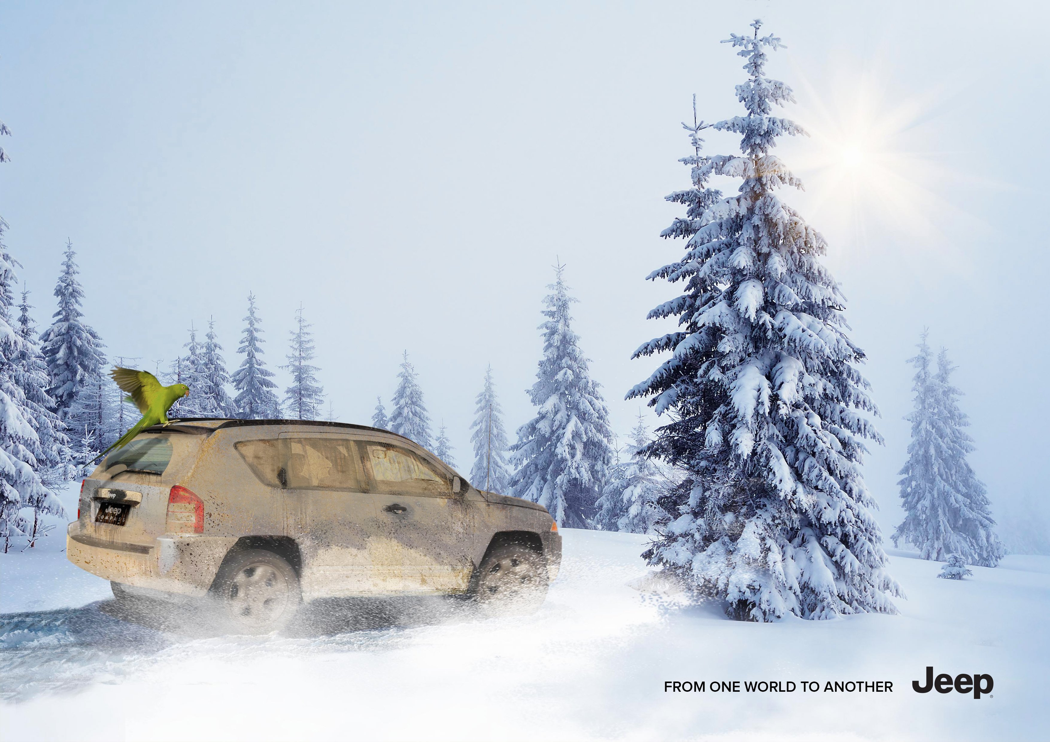 Bon courage aux Parisiens : les 80 publicités les plus créatives sur la Neige #neigeparis 43