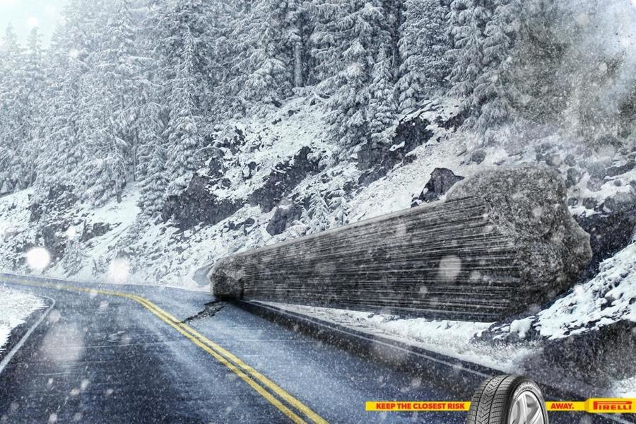 Bon courage aux Parisiens : les 80 publicités les plus créatives sur la Neige #neigeparis 56