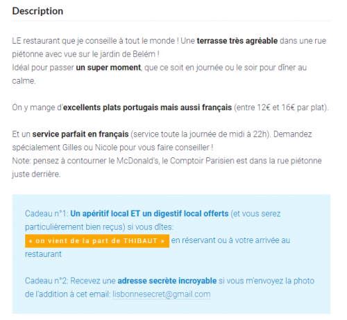 Cas Pratique : Voici comment Thibaut de bonjourlisbonne.fr gagne 3 000€/mois avec un blog sur le tourisme 13