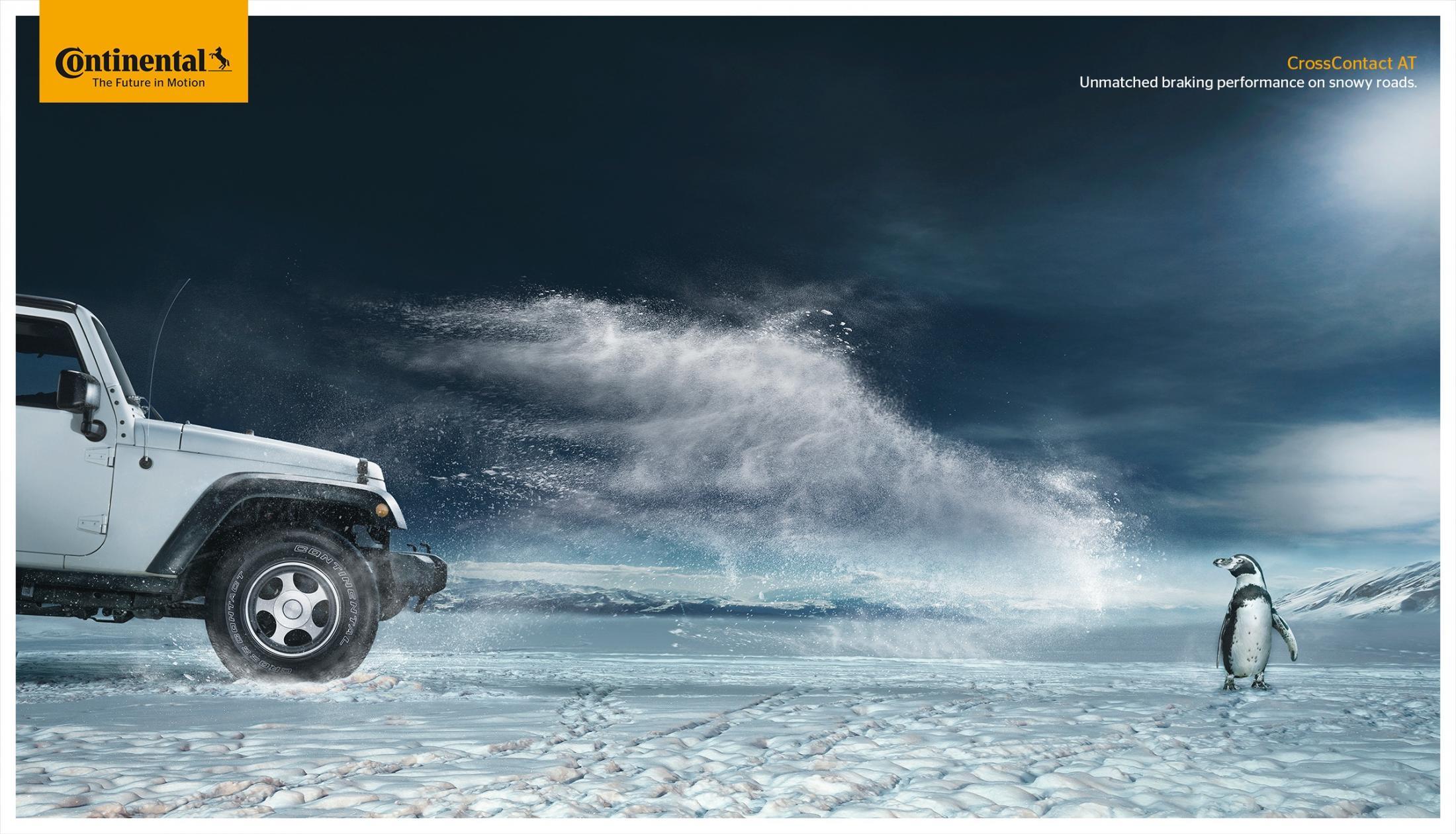 Bon courage aux Parisiens : les 80 publicités les plus créatives sur la Neige #neigeparis 63