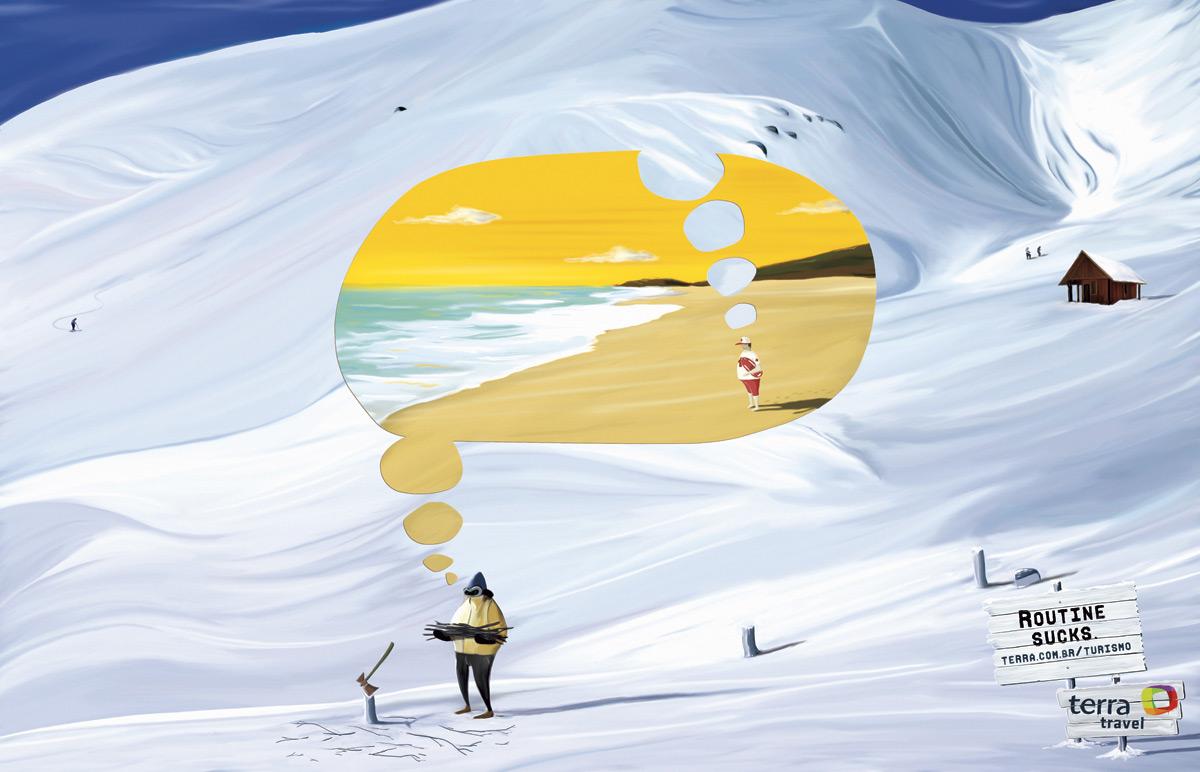 Bon courage aux Parisiens : les 80 publicités les plus créatives sur la Neige #neigeparis 72