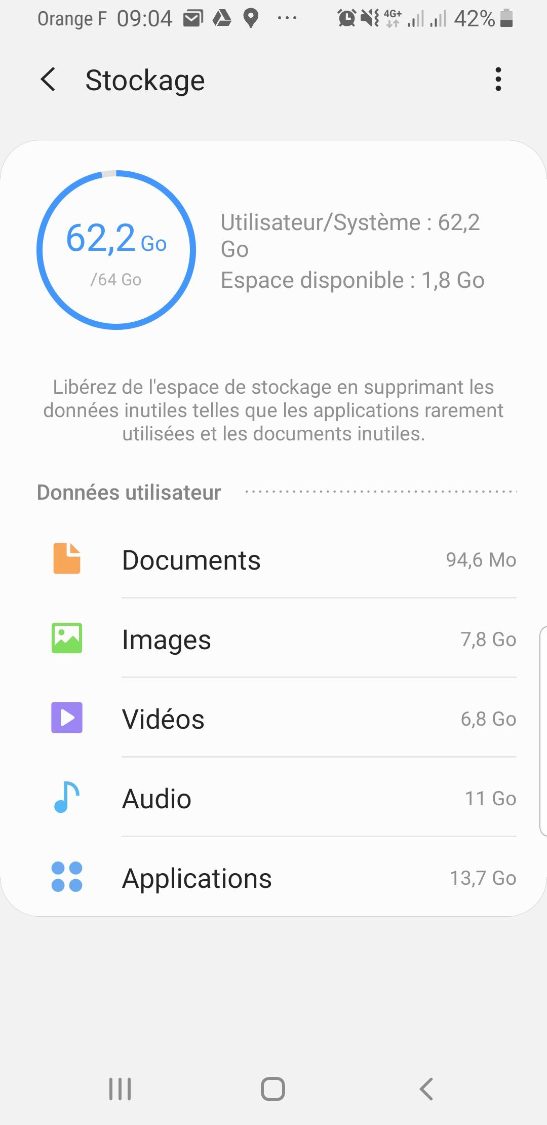 Comment gagner de l'espace sur son Smartphone ? Il suffit de déplacer vos applications sur la carte SD ! 2