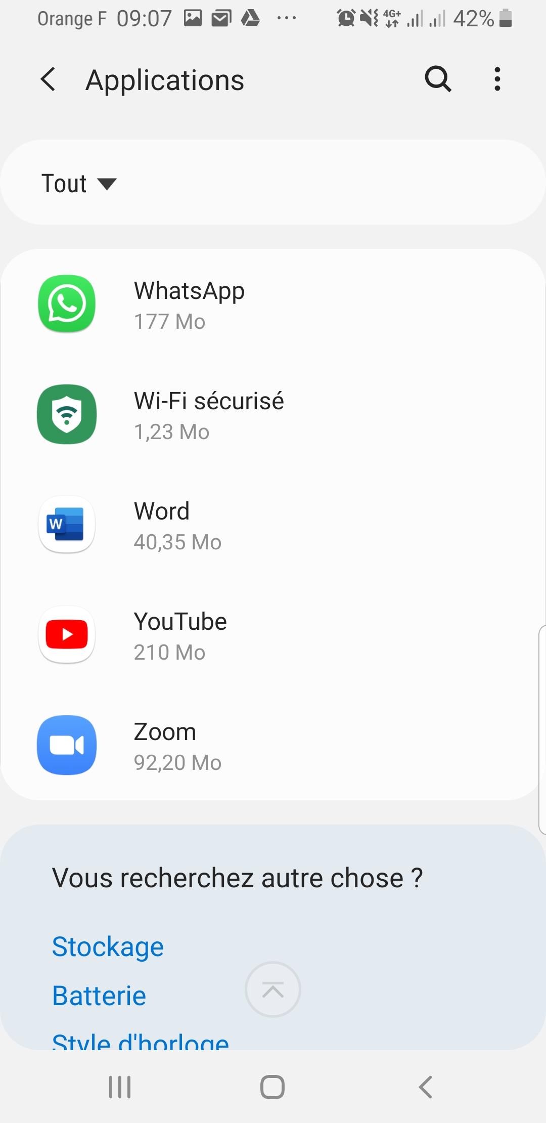 Comment gagner de l'espace sur son Smartphone ? Il suffit de déplacer vos applications sur la carte SD ! 7