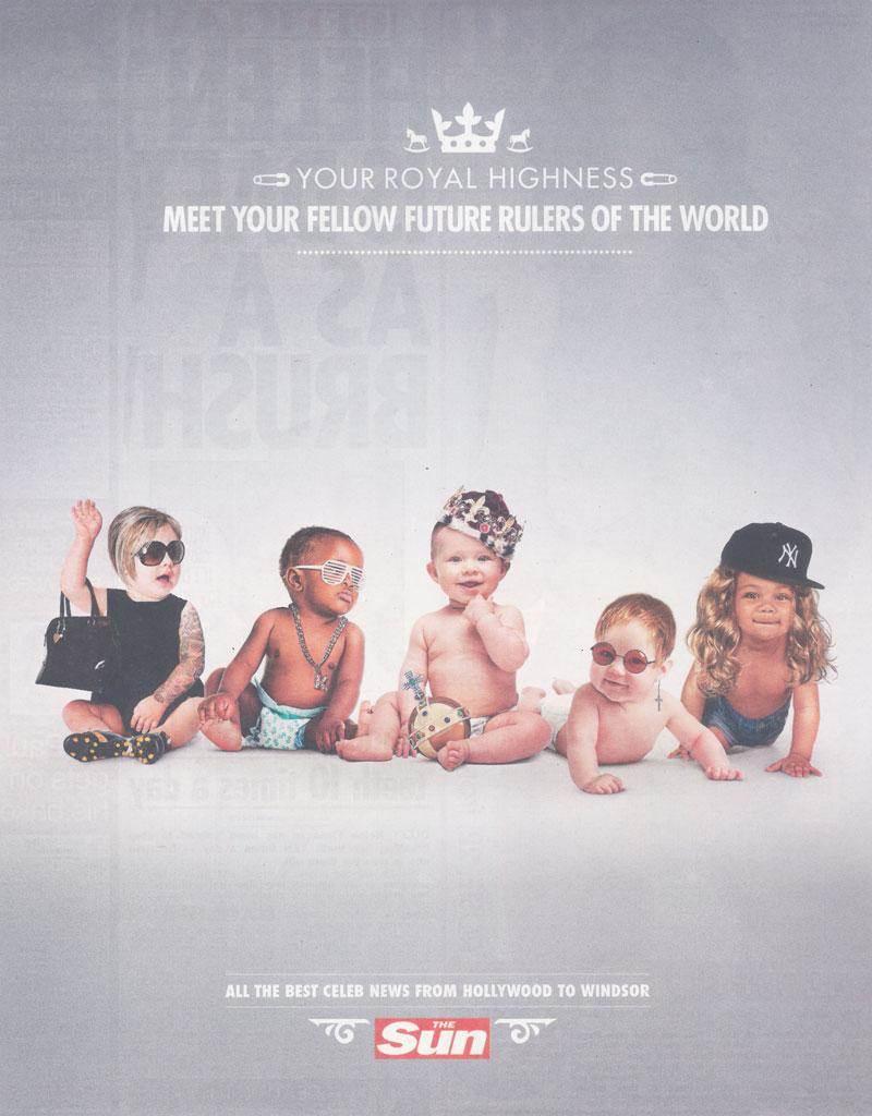 Royal Baby : même les publicitaires en sont fous [40 publicités hyper créatives] #royalbaby 27