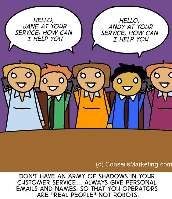 The Customer Experience Cartoon - English version 12