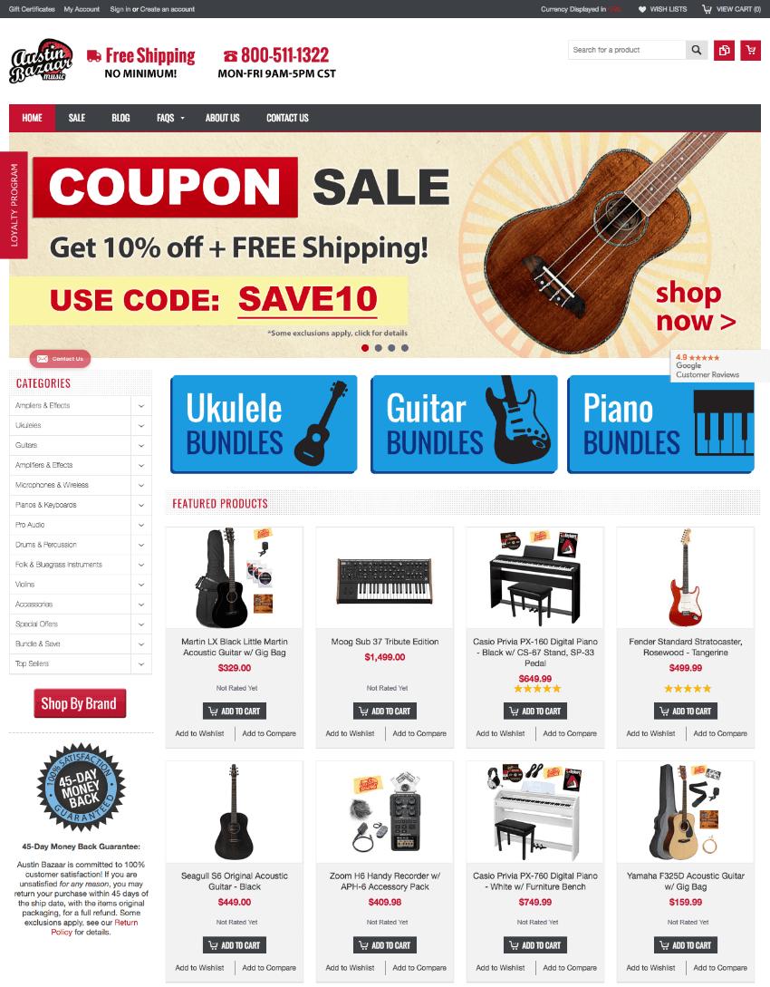 Que mettre sur la page d'accueil de son site eCommerce ? Les éléments clés à considérer pour une super homepage E-commerce 22