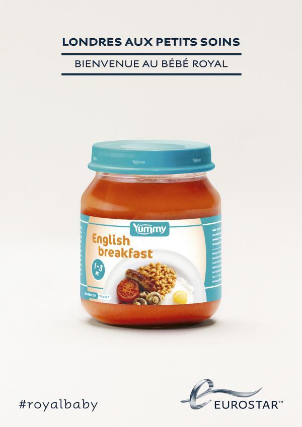 Royal Baby : même les publicitaires en sont fous [40 publicités hyper créatives] #royalbaby 15