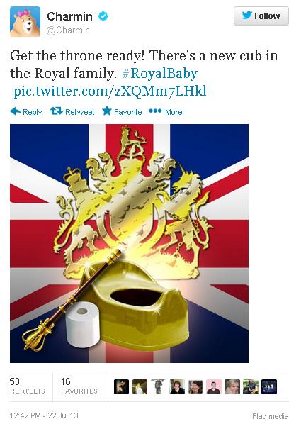 Royal Baby : même les publicitaires en sont fous [40 publicités hyper créatives] #royalbaby 41