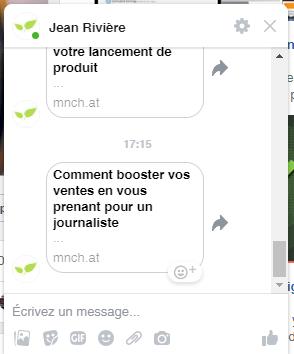 Les erreurs à ne surtout pas faire avec un Chatbot sur Facebook Messenger ! 5