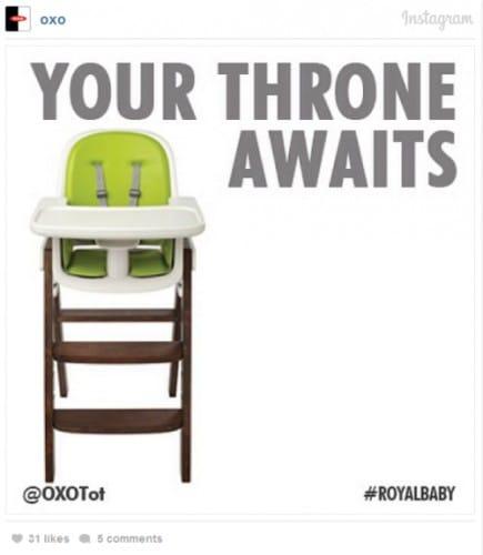 Royal Baby : même les publicitaires en sont fous [40 publicités hyper créatives] #royalbaby 22