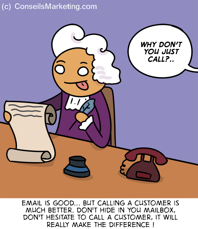 The Customer Experience Cartoon - English version 5
