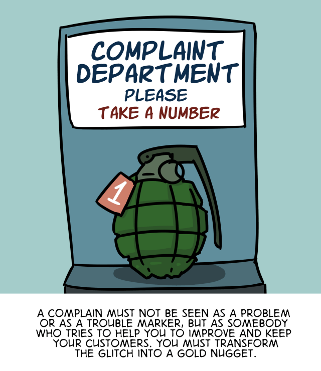 The Customer Experience Cartoon - English version 46
