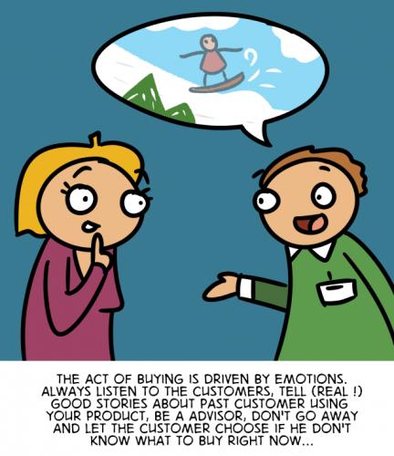 The Customer Experience Cartoon - English version 45