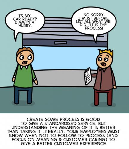 The Customer Experience Cartoon - English version 38
