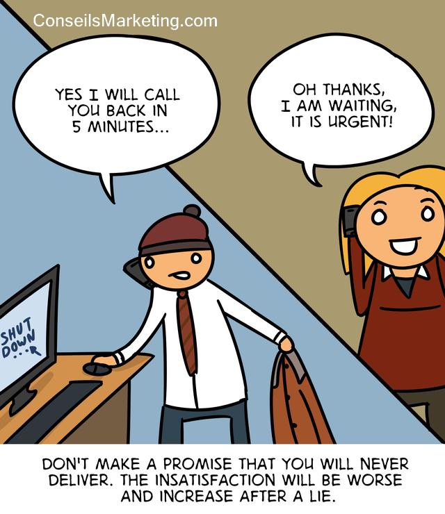 The Customer Experience Cartoon - English version 3