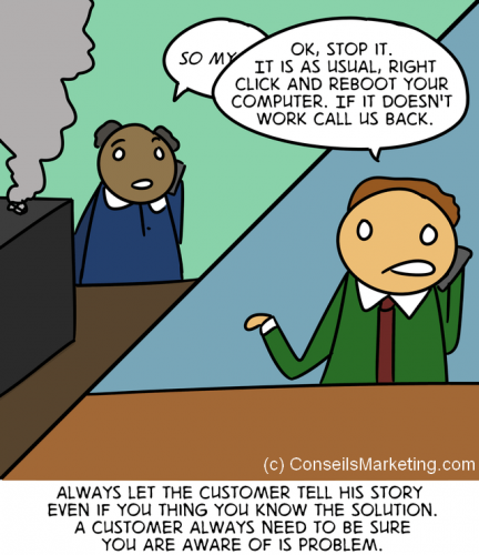 The Customer Experience Cartoon - English version 4