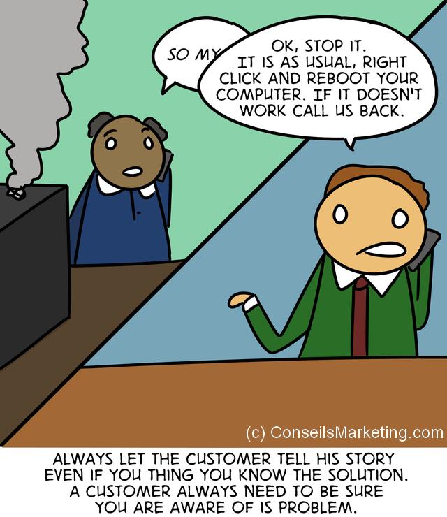 The Customer Experience Cartoon - English version 2