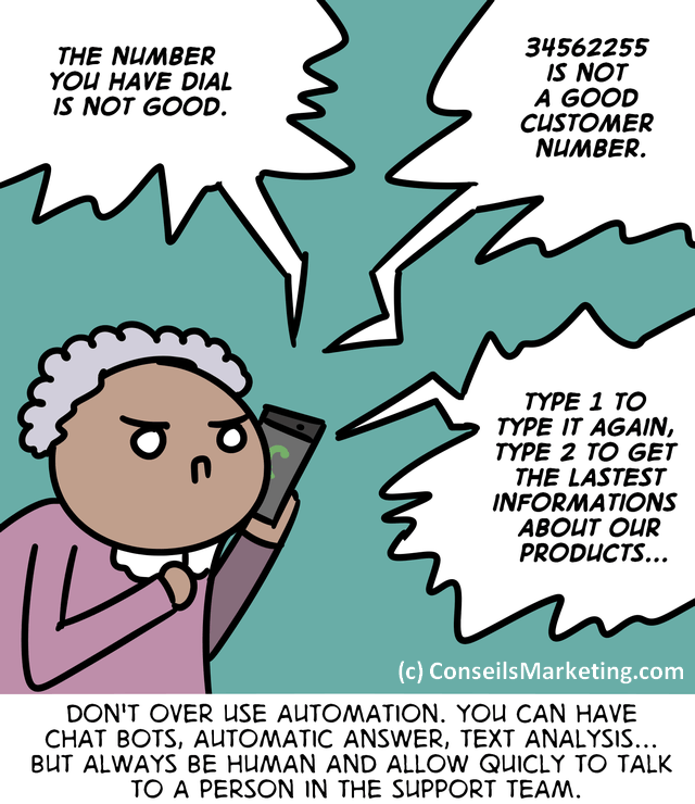 The Customer Experience Cartoon - English version 80